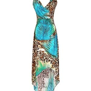Jungle Print Plus Size 2XL Dress NWT